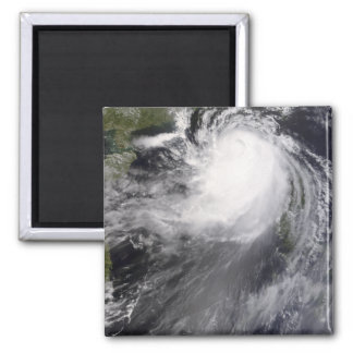 Typhoon Nuri approaching China Magnet