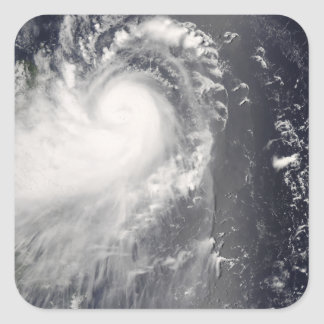 Typhoon Nuri approaching the Philippine Islands Square Sticker