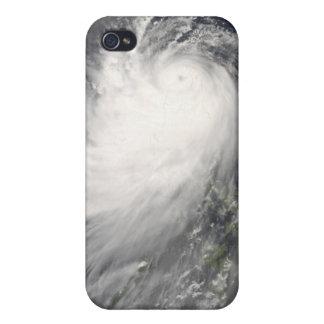 Typhoon Nuri over the Philippine Islands iPhone 4 Cases
