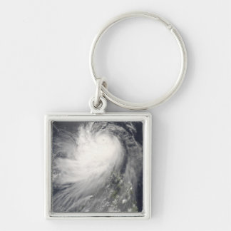 Typhoon Nuri over the Philippine Islands Key Ring