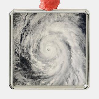 Typhoon Rammasun in the Philippine Sea Christmas Ornament