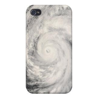 Typhoon Rammasun in the Philippine Sea iPhone 4/4S Case