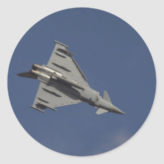 Typhoon Round Sticker