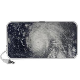 Typhoon Vamco in the Pacific Ocean Travelling Speaker