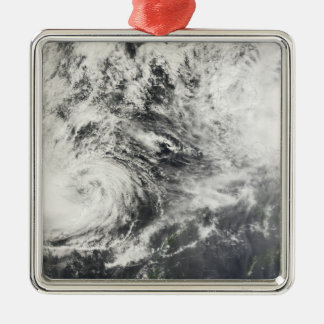 Typhoons Mitag and Hagibis Christmas Ornament