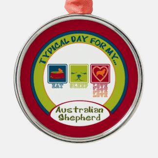 Typical Day for my Australian Shepherd | Ornament