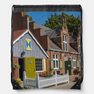 Typical Dutch Architecture Drawstring Bag