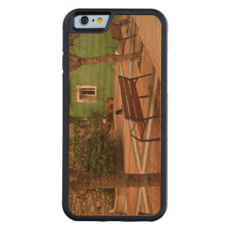 Typical place in a Spanish town Carved Cherry iPhone 6 Bumper Case