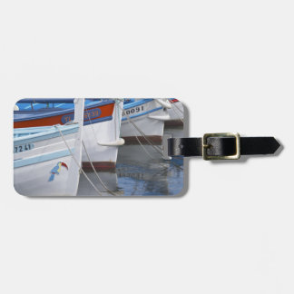 Typical Provencal fishing boats painted in 2 Luggage Tag