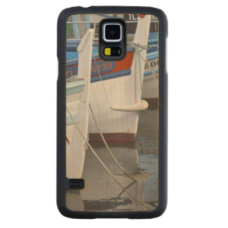 Typical Provencal fishing boats painted in 2 Maple Galaxy S5 Slim Case