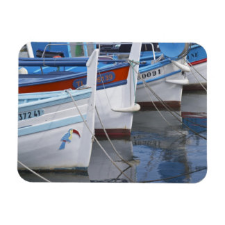 Typical Provencal fishing boats painted in 2 Flexible Magnets