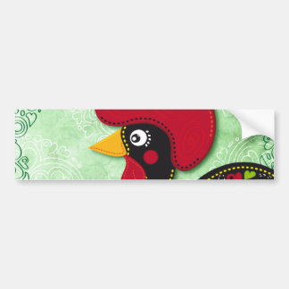 Typical Rooster of Barcelos Bumper Sticker