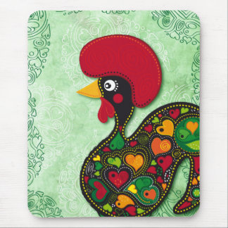 Typical Rooster of Barcelos Mouse Mat