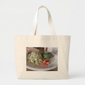 Typical South Tyrolean dish of canederli pasta Jumbo Tote Bag