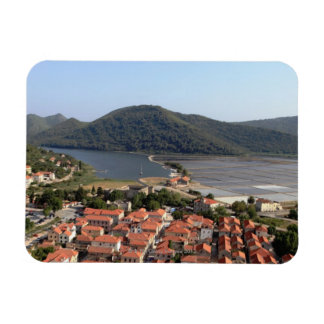 typical village in CROATIA Magnet