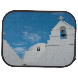 Typical whitewashed church floor mat