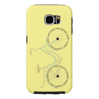 Typographic Bicycle Biking Cycling Galaxy Case Samsung Galaxy S6 Cases