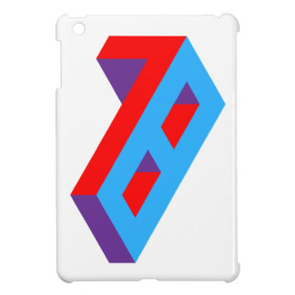 Typographical design of 78. For people born in 78 Cover For The iPad Mini