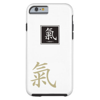 """Typography """"Aura """" of Chinese character Tough iPhone 6 Case"""