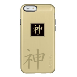 "Typography ""God "" of Chinese character Incipio Feather® Shine iPhone 6 Case"