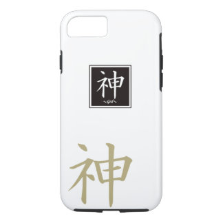 "Typography ""God "" of Chinese character iPhone 7 Case"