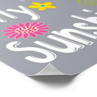 Typography Motivational Phrase - Grey Print
