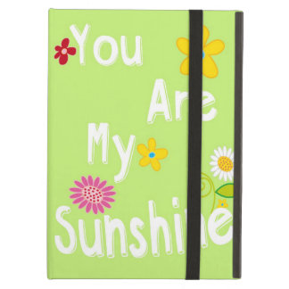 Typography Motivational Phrase - Lime Green iPad Air Case