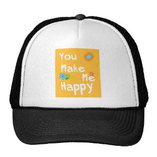 Typography motivational phrase - Orange Cap