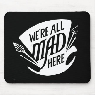 Typography | We're all Mad 4 Mouse Mat