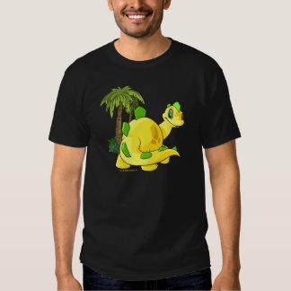 Tyrannian  yellow Chomby gazing Shirts