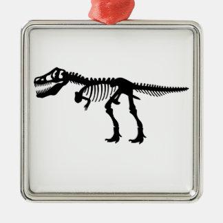 Tyrannosaurs Rex  Dinosaur Skeleton Christmas Ornament