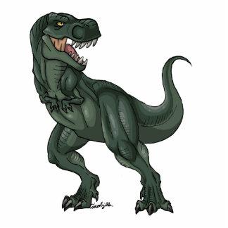 Tyrannosaurus Cartoon Standing Photo Sculpture