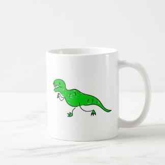 tyrannosaurus coffee mug