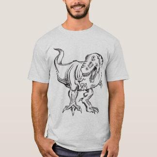 Tyrannosaurus Dinosaur Sketch Doodle T-Shirt