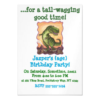 Tyrannosaurus Gifts & Accessories Magnetic Invitations