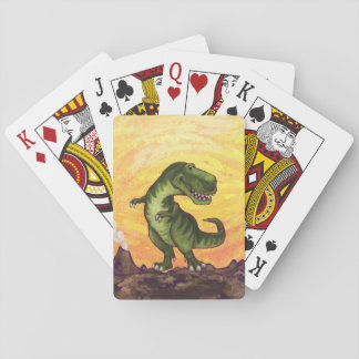 Tyrannosaurus Gifts & Accessories Playing Cards