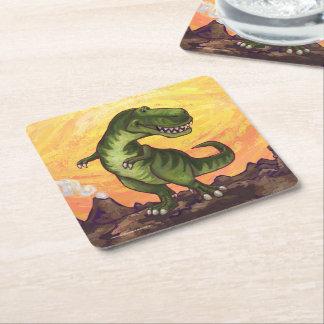 Tyrannosaurus Gifts & Accessories Square Paper Coaster