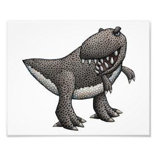 Tyrannosaurus Illustration Photo Print