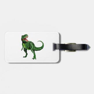 Tyrannosaurus Luggage Tag