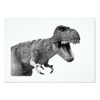 Tyrannosaurus Rex 13 Cm X 18 Cm Invitation Card