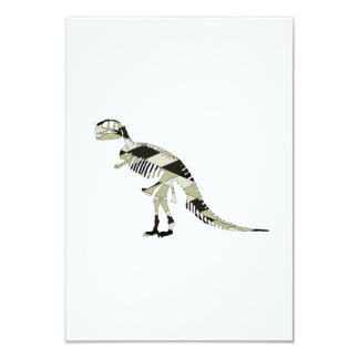 Tyrannosaurus Rex 9 Cm X 13 Cm Invitation Card