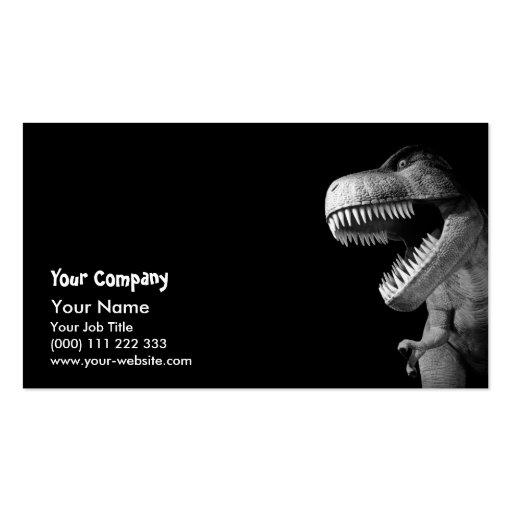 Tyrannosaurus Rex Business Card Templates