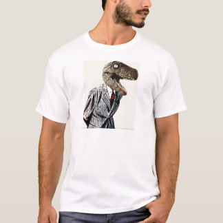 Tyrannosaurus Rex Business Man T-Shirt