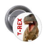 Tyrannosaurus Rex Buttons