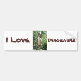Tyrannosaurus Rex Dinosaur Bumper Sticker