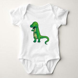 Tyrannosaurus Rex Dinosaur cartoon Baby Bodysuit