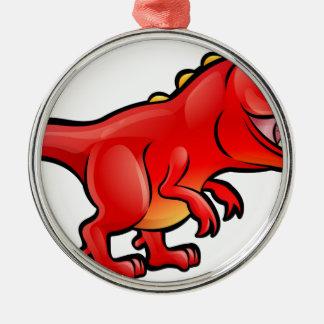 Tyrannosaurus Rex Dinosaur Cartoon Character Christmas Ornament