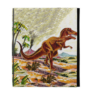 Tyrannosaurus Rex Dinosaur iPad Folio Covers