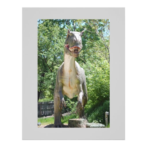 Tyrannosaurus Rex Dinosaur Flyer Design