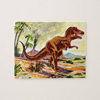Tyrannosaurus Rex Dinosaur Jigsaw Puzzle